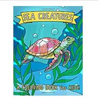 Sea Creatures Coloring Books