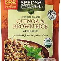 Seeds of Change Quinoa Brown Rice With Garlic