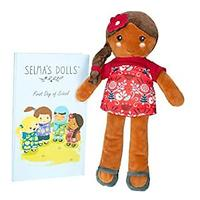 Selma's Dolls The Lola Doll - Soft 12-inch Mexican Baby Doll With Storybook