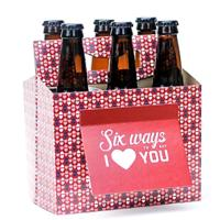 Six Pack Greeting Card Box (Set of 4)