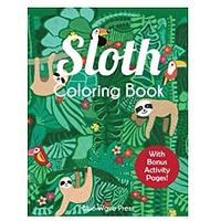 Sloth Coloring Books