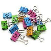 Smiling Binder Clips