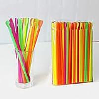 Snow Cone Spoon Straws