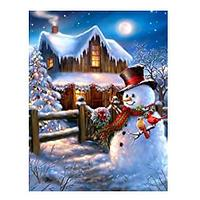 Snowman Diamond Art Kit