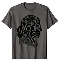 Speak Your Mind Even If Your Voice Shakes T-shirt