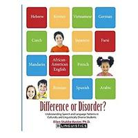 Speech and Language Disorder Resources