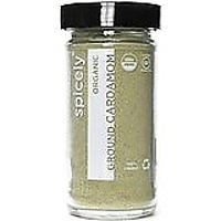 Spicely Organic Cardamom Decorticated Powdered