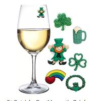 St. Patrick's Day Magnetic Wine Charms