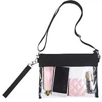 Stadium-Approved Clear Shoulder Tote Bag