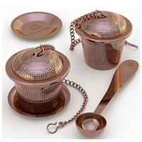 Stainless Steel Loose Leaf Tea Infuser (Set of 2)