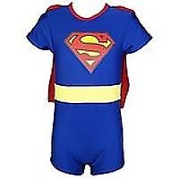 Superman One Piece UV Protection Swimsuit