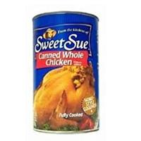 Sweet Sue Canned Whole Chicken
