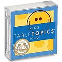 TableTopics Conversation Cards - Kids Topics To Go
