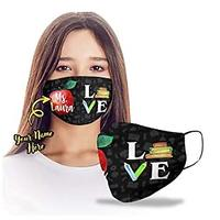 Teacher Love Personalized Face Mask
