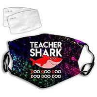 Teacher Shark Face Mask