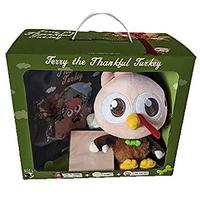 Terry the Thankful Turkey Book and Toy