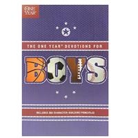 """The One Year Book of Devotions for Boy"""