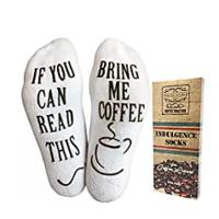 "The Original ""If You Can Read This"" Funny Socks (Wine, Coffee, Chocolate)"