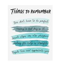 Things to Remember Wall Art