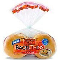 Thomas Bagel Thins Plain