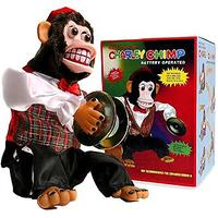 Toy Monkey With Cymbals