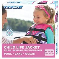 U.S. Coast Guard-approved Life Jackets for Kids