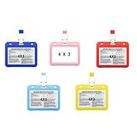 Vaccination Card Protective Covers With Lanyards (5 Pack)