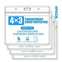 Vaccine Card Protectors (4 Pack)