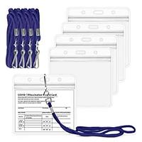 Vaccine Card Protectors (5 Pack)