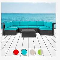 Walsunny 7-Piece Patio Outdoor Furniture Set