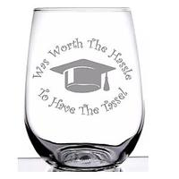 Was Worth the Hassle to Have the Tassel Wine Glass