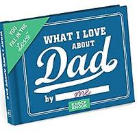 What I Love about Dad Fill in the Love Book