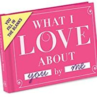 What I Love about You Fill in the Love Book Fill-in-the-Blank Gift Journal