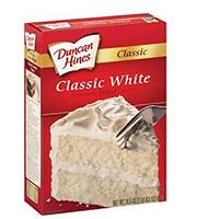 White Cake Mixes