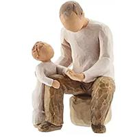 Willow Tree Grandfather Hand-painted Figure
