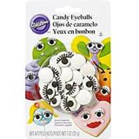 Wilton Edible Candy Eyeballs With Eyelashes
