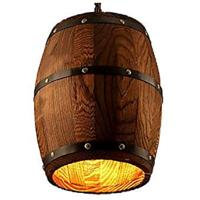Wine Barrel Pendant Light
